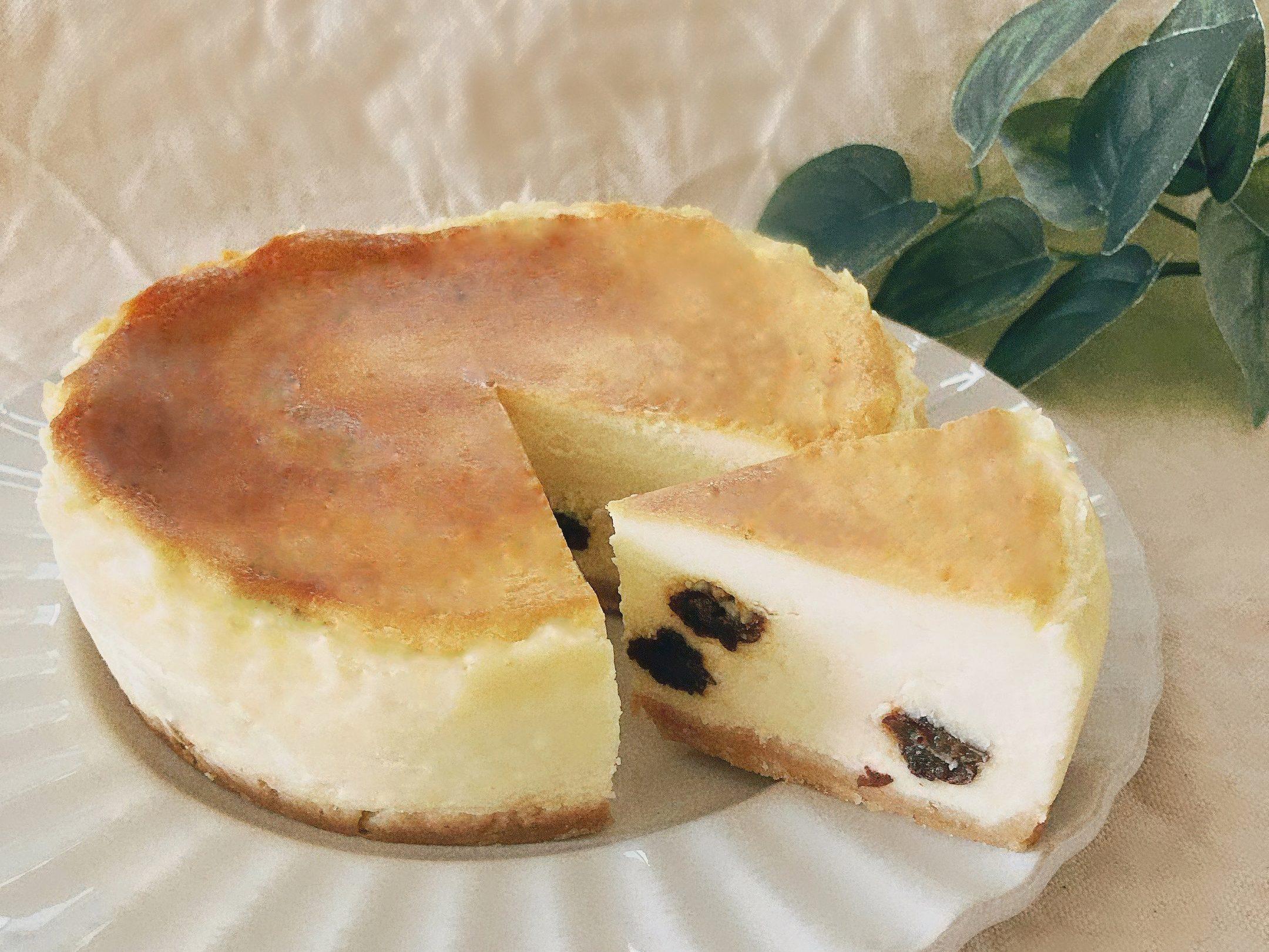 ジャンボフレームレーズン入りニューヨークチーズケーキ