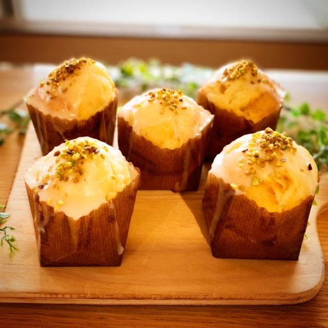 浜松レモン使用♪プチレモンケーキ